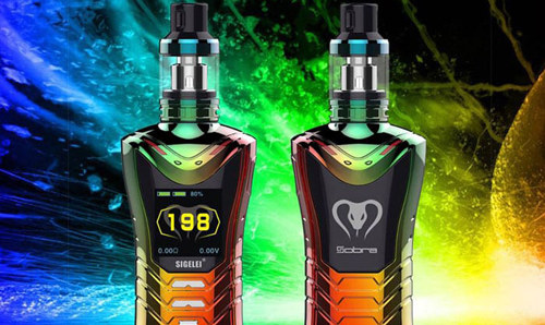 Sigelei Sobra 198W Kit Review and Deals