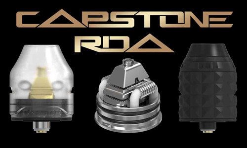 Vandy Vape Capstone RDA Review