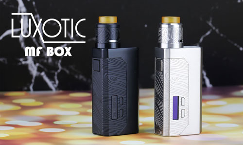 WISMEC Luxotic MF Box Mod/Squonker Kit Review