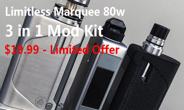 Limitless Marquee 80w 3 in 1 Kit Clearance - $19.99