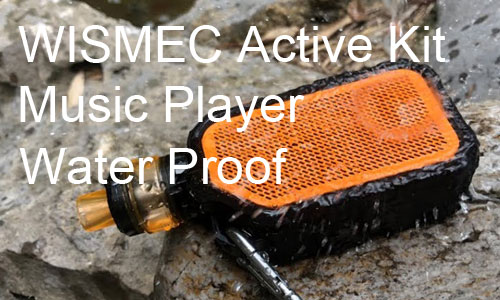 Wismec Active Kit Review: Water Proof and Can Play Music