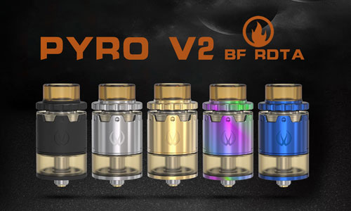 Vandy Vape PYRO V2 BF RDTA Review