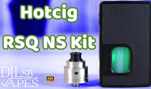 Hotcig RSQ NS Squonk Review