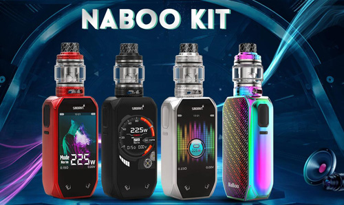 SMOANT Naboo Preview: Biggest Touch Screen