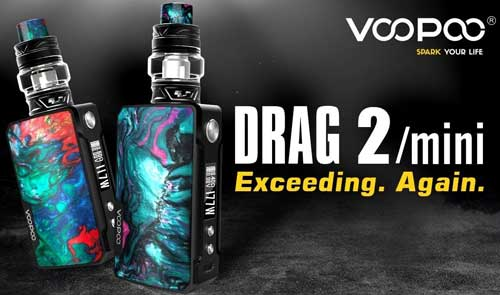 Review of Voopoo Drag 2 & Drag Mini Kit