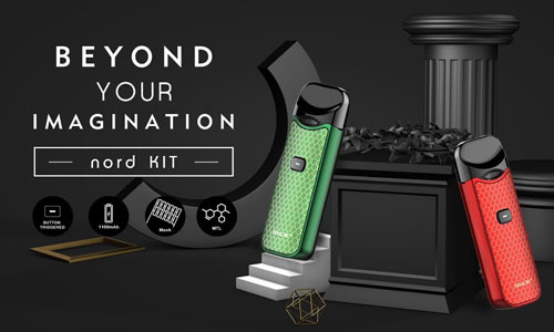 SMOK Nord Preview: Beyond your Imagination?
