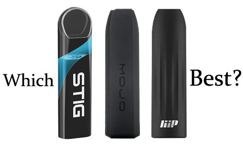 Which Disposable Pod Kit is the best one?