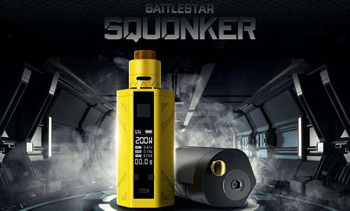 Smoant battlerstar squonk kit review