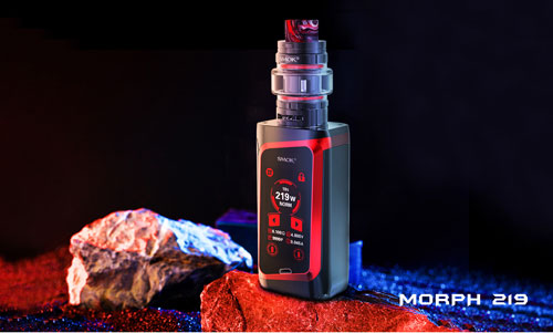 SMOK Morph 219 Review: Input Keyboard?