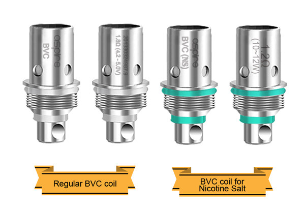 Aspire Spryte AIO Kit 2 kinds of coil for different Vaper