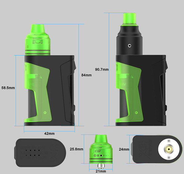 Vandyvape Simple EX BF Squonk Kit Review   Best Vaping Deals