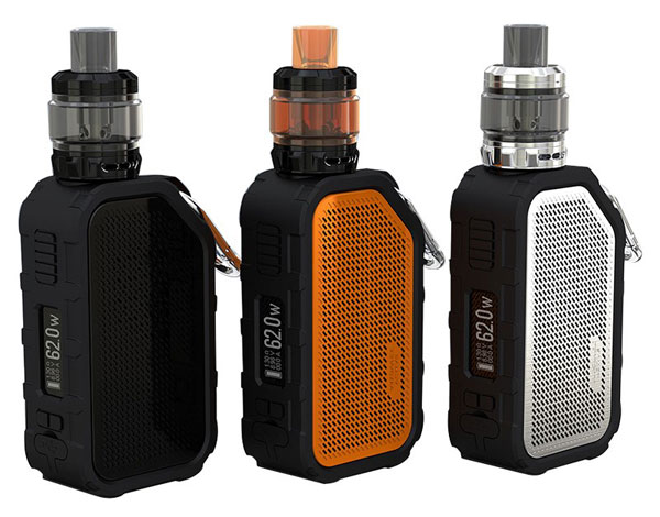 Wismec Active Kit with Amor NS Plus Tank 3 colors