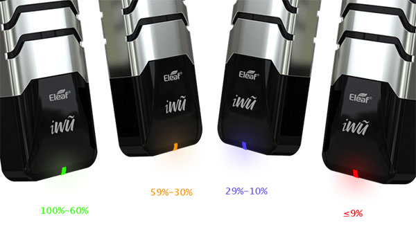 Eleaf iWũ 2ml Pod Kit battery indicator