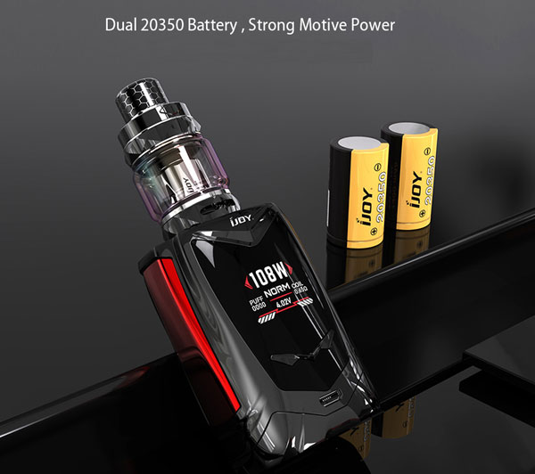 iJoy Avenger Baby Kit with dual 20350 Battery