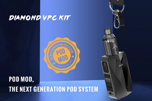 iJoy Diamond VPC Starter Kit is the next generation of pod system