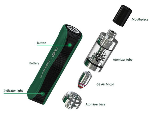 Eleaf iStick Amnis with GS Drive all parts