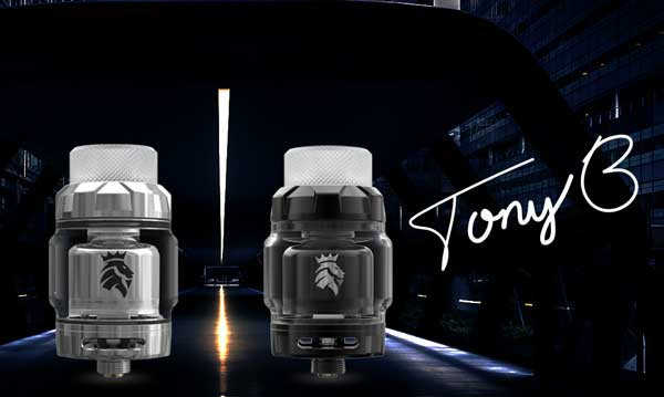 Kaees Stacked RTA Designed by Tony B. of Vapor Trail Channel