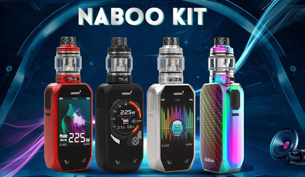 Smoant Naboo 225W Kit with Mesh Subohm Tank 4 colors
