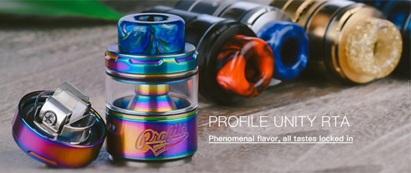 Wotofo Profile Unity Mesh RTA Review