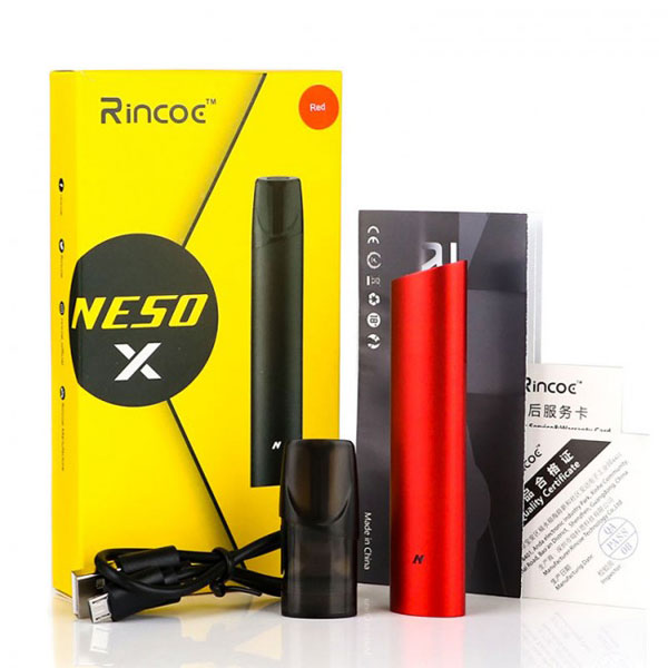 Rincoe Neso X Pod Kit Package Includes