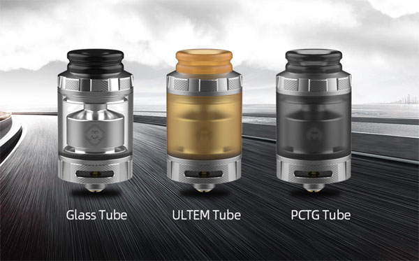 Hellvape Destiny RTA 3 kinds of tube